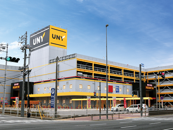 MEGA Don Quijote UNY store appearance